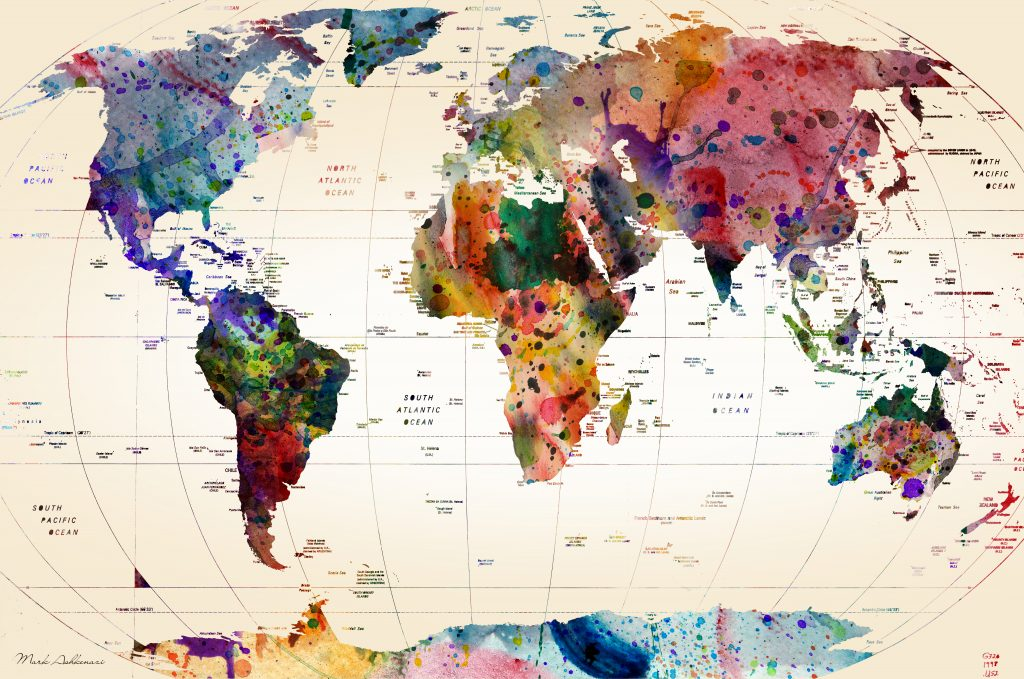 Lowering illusionary borders in our minds